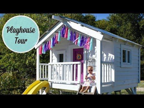 DIY Crate Wood Playhouse - A Tour