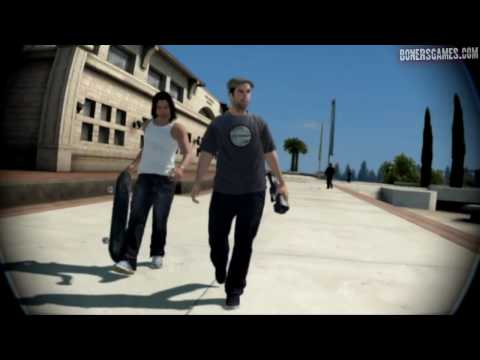 SKATE 3 - ps3 - BJ's Career, Part 01: Intro, PCU Tour, Get Your Trick On, Shingo's Turn, Etc.