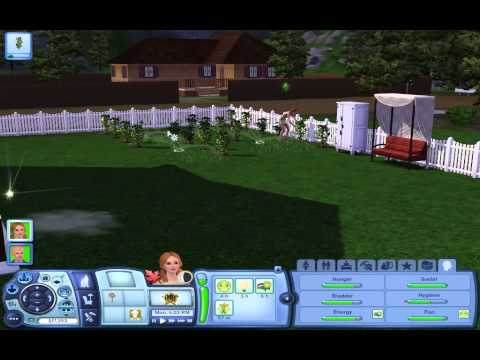 Growing a Plantsim! (Sims 3 University Life) Part One