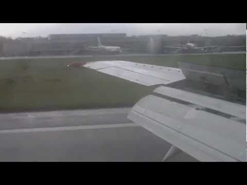BMI Baby Boeing 737-400 flight from London Stansted to Belfast City Airport