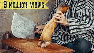 Moroccan Cow Foot Stew - Frakech / الكرعين بالحمص مع رجل كوري / 모로코