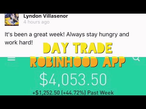 How To Make $1,252.50 Day Trading Penny Stocks | Robinhood App