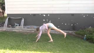 Practicing my gymnastics    Ashlie36XO