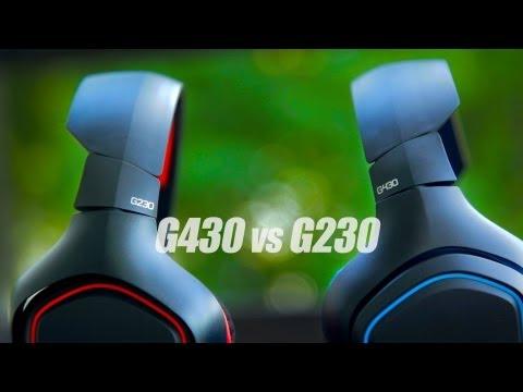 Logitech G430 vs G230 Headset Review