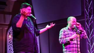 H Jon Benjamin & Eugene Mirman performing at Bob