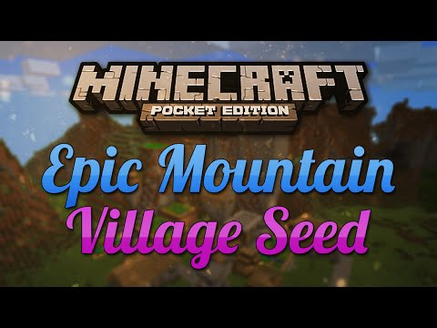 [0.9.0] EPIC Mountain Village Seed - Minecraft Pocket Edition