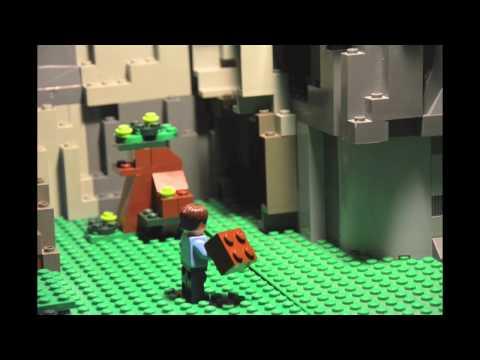 Lego Minecraft Steve VS Enderman