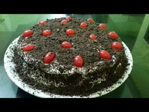 Black forest cake with out oven
