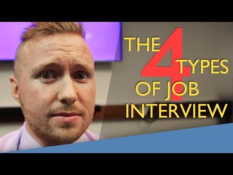 Can you name all 4 types of job interview? | BBC MAKE IT