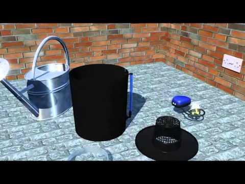 IWS Deep Water Culture 1 Pot System Setup - Oxy Pot