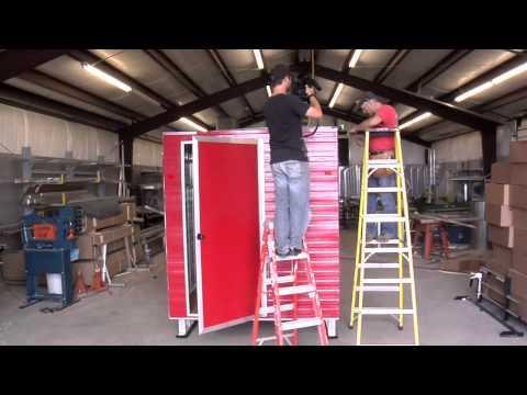 2011 Sport Shack Ice Shack Installation Video