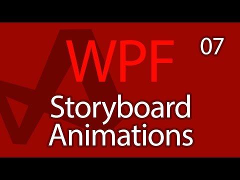 C# WPF UI Tutorials: 07 - Storyboard Animations