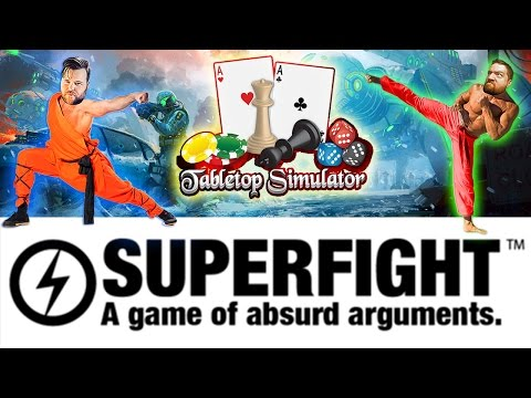 SUPERFIGHT: Tabletop Simulator RPG | Who Will Survive?? Butts Are On The Line | Tabletop Simulator