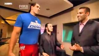 Great Khali New Punjabi Friend (WWE) Jinder Mahal confronts Khali in the Ring