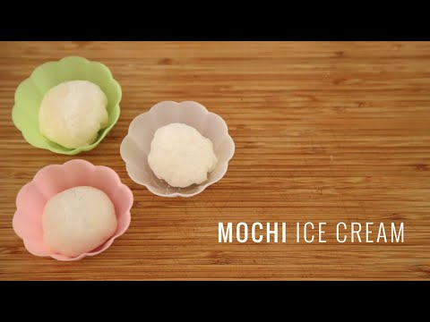 Mochi Ice Cream (My first attempt)