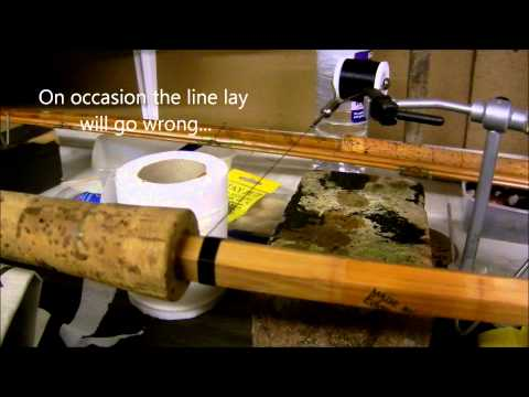 Almost Effortless Rod Whipping / Wrapping : A How To Video