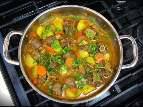 The Ultimate Oxtail Stew Recipe.