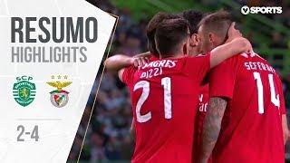 Highlights   Resumo: Sporting 2-4 Benfica (Liga 18/19 #20)