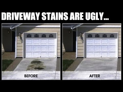 DE-OIL-IT - Driveway Stain Removal the Green Way