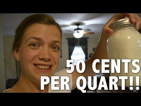 Super Cheap and Easy Homemade Yogurt