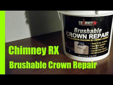 Brushable Crown Repair Chimney RX Coating