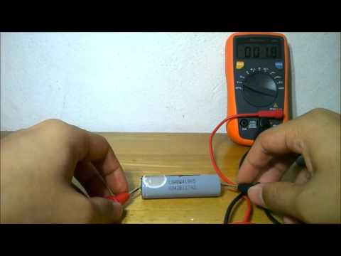 How to check good 18650 lithium battery.
