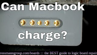 How to tell a bad charging port from a bad logic board on Macbook.