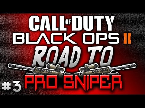 Black Ops 2   Road To Pro Sniper: SVU-AS w/ Silencer & ACOG! (BO2 Multiplayer Gameplay)
