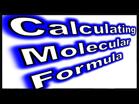 Calculating the Molecular Formula of a Compound