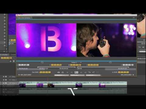 Using the Trim Window - Premiere Pro CS5
