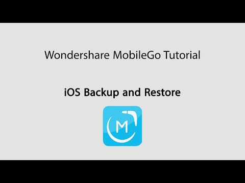 MobileGo: Backup and Restore iOS Devices/iPhone SE/iPhone 6S/iPhone 6/5s