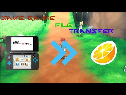 How To Export Any 3DS Save Game File To The Citra Emulator CFW (*FULL STEPS*)