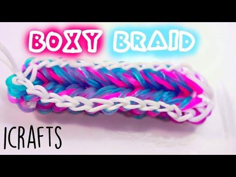 Boxy Braid Bracelet | Rainbow Loom Tutorial