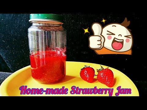Home Made Strawberry Jam | Easy Jam Recipe | How to make Jam at Home ?