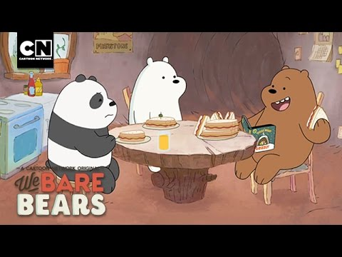 Preparing for Winter I We Bare Bears I Cartoon Network