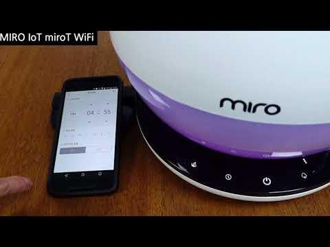 미로 가습기 MIRO-NR08M IoT앱 설정 / Enuri 리뷰