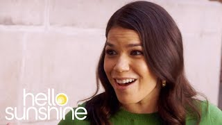 America Ferrera Goes Back to School with Reese