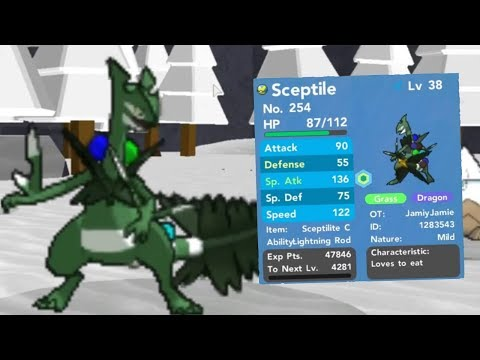 HOW TO GET THE NEW CHRISTMAS EVENT MEGA SCEPTILE IN POKEMON BRICK BRONZE!