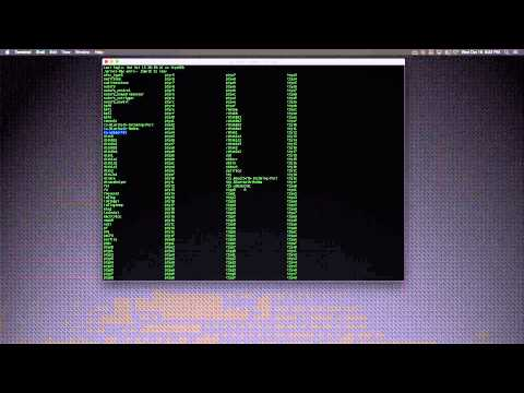 Using MAC terminal with Prolific USB serial PL2303