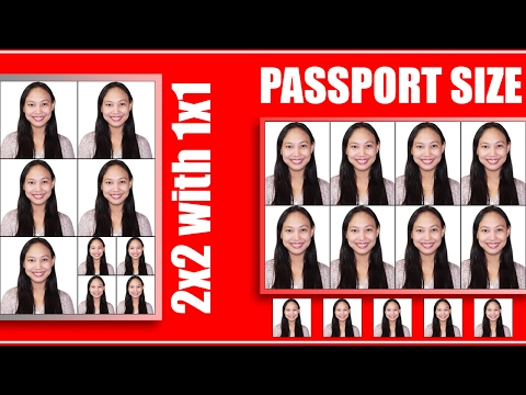 Photoshop Tutorial l ID PACKAGE Tutorial 2x2 with 1x1 l RUSH ID (Tagalog)