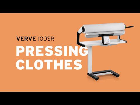 Reliable Verve 100SR Rotary Steam Press - Pressing Clothes