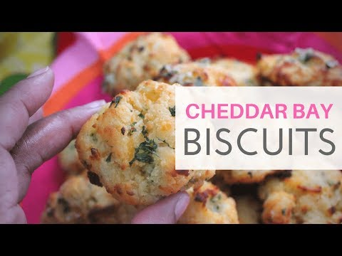 **KETO** Cheddar Bay Biscuits (LOW CARB/HIGH FAT)   NUT FREE   GRAIN FREE   GLUTEN FREE