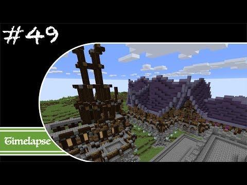 Minecraft Let's Build Timelapse - Fantasy - Week 49 - The Last Few Houses