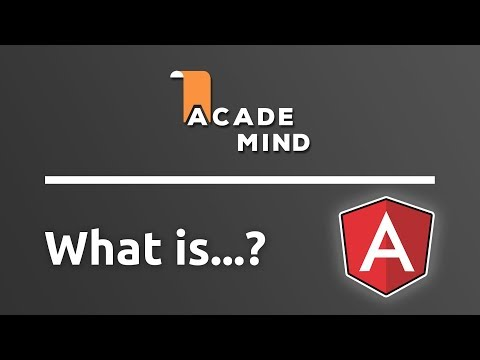 What is Angular - academind.com Snippet