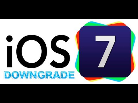How to downgrade iOS 7 final to iOS 5.1.1 ( iPhone 4 ONLY)