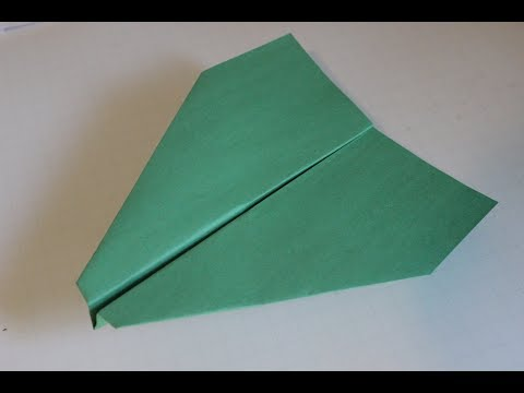 How to make a cool paper plane origami: instruction| Simple