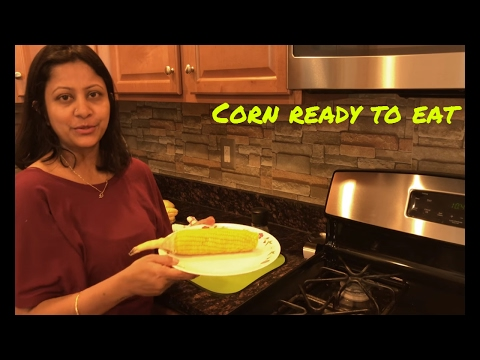 Boil Corn in 3 Minutes using microwave
