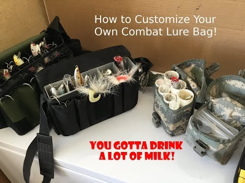 Make Your Own Combat Surf Lure Bags