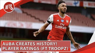 Aubameyang Creates History! | Player Ratings (Ft Troopz) | Arsenal 4-0 Norwich