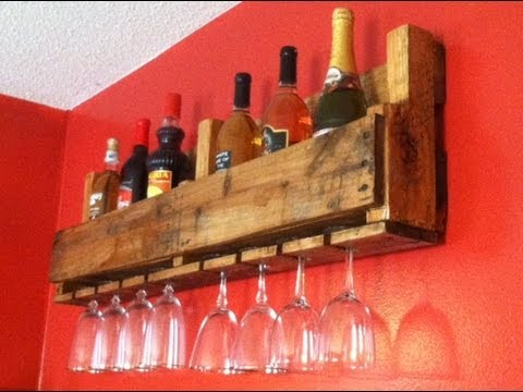 Wine Bottle/Glass Rack